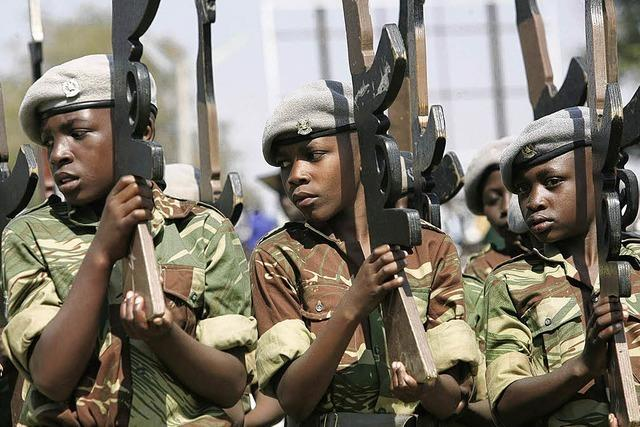 250 000 Kindersoldaten weltweit