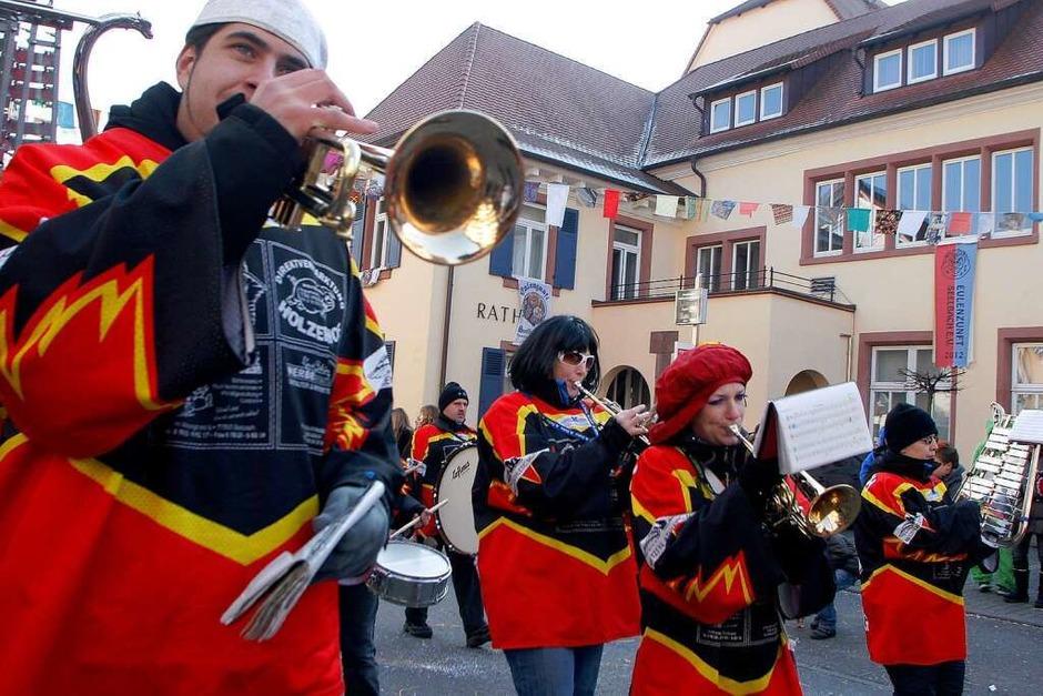 Der Umzug in Seelbach. (Foto: Heidi Foessel)