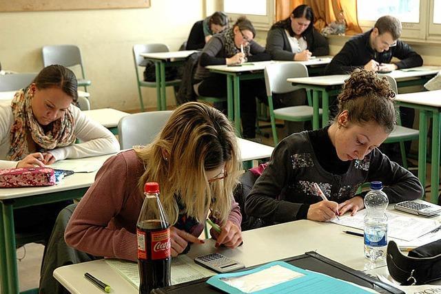 Eine Art Generalprobe für die Abschlussprüfung
