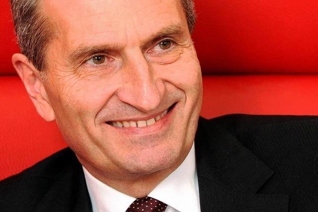 Oettinger-Nostalgie: Der Kommissar geht um