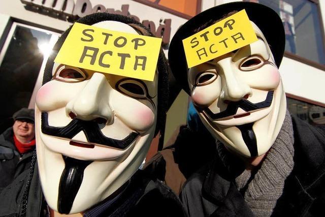 Anti-Acta: Furcht um die Freiheit im Internet