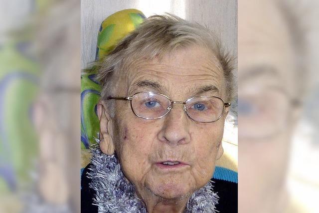Luise Gorzalka wurde 80 Jahre