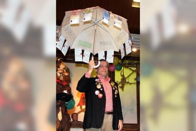 Ein Rettungsschirm für den Bürgermeister