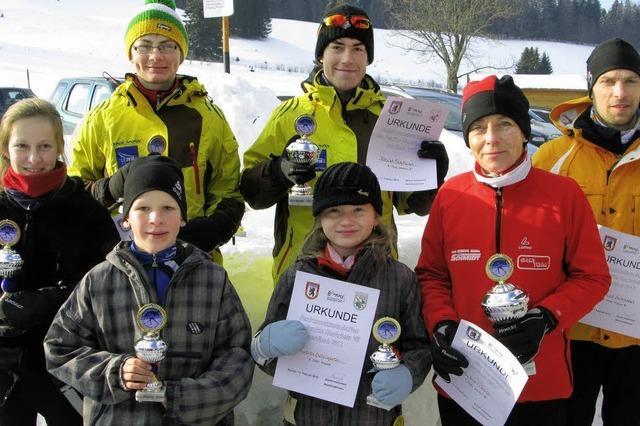 Kaum Interesse am Skilanglauf