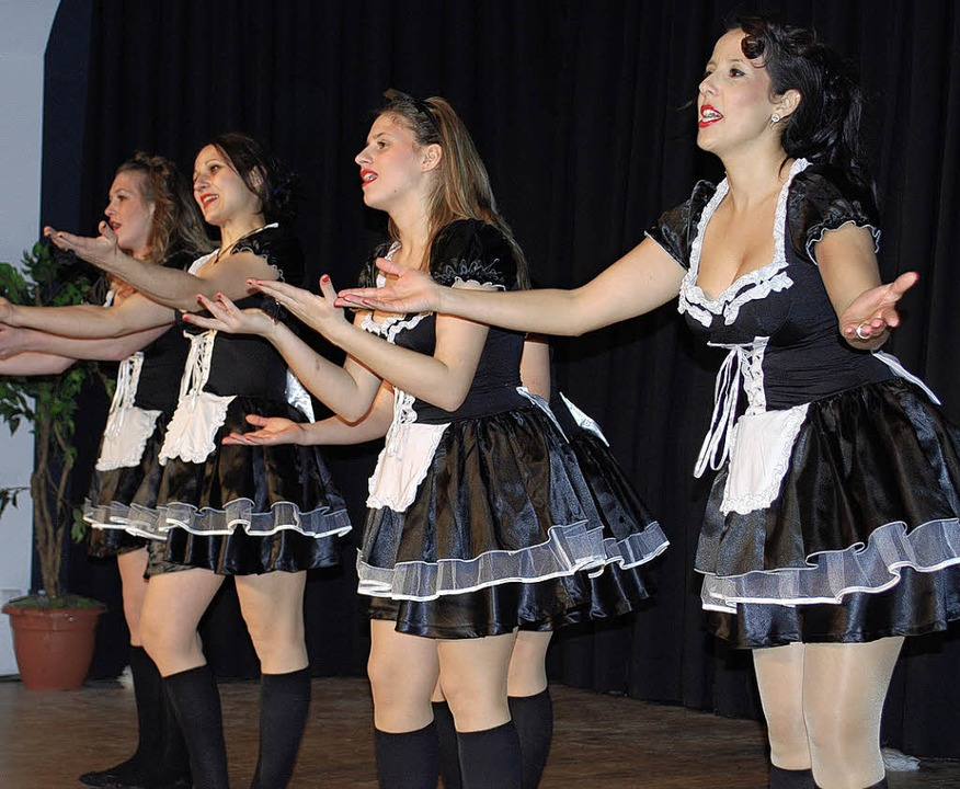 Die Zundel-Girls begeisterten mit ihren Tänzen.   | Foto: Thomas Loisl Mink