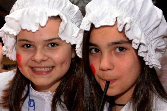 Fotos: Junge Narren feiern in Wehr