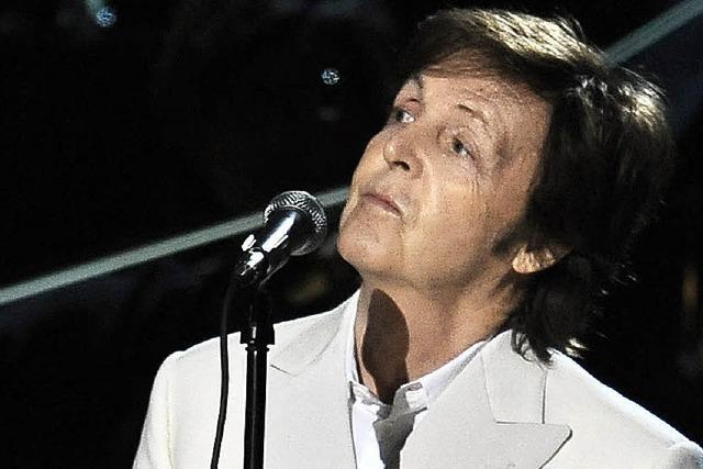 Paul McCartney in Zürich: Vor dem Konzert für die Queen