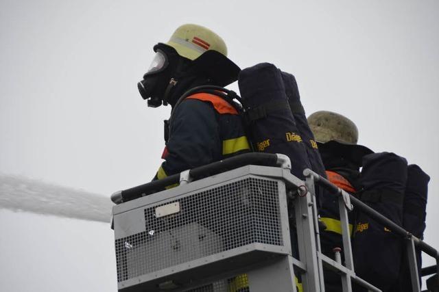 71-jährige Frau stirbt bei Wohnhausbrand