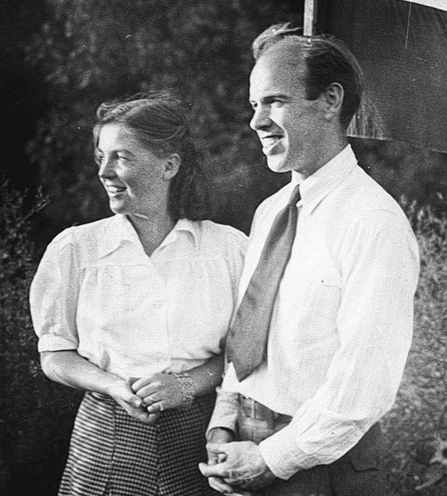 Delbert Barley und Ehefrau Ruth, Quäker  | Foto: privat
