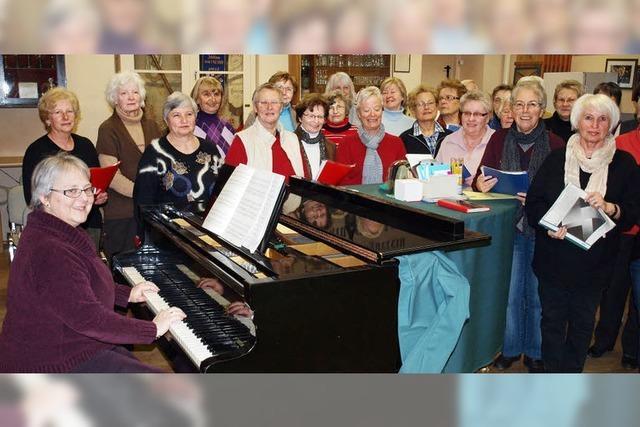 Chor sucht Verstärkung zum Jubiläum