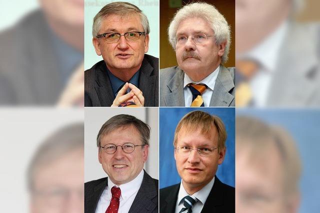 Grün-Rot will alle vier Regierungspräsidenten ablösen