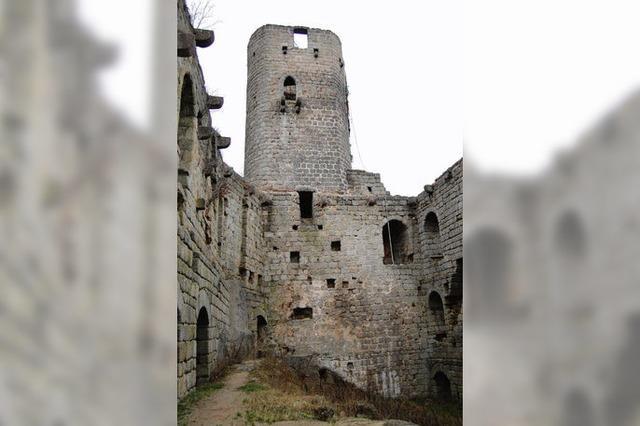 Monsieur d'Andlau, wie ist es, eine Burgruine zu besitzen?