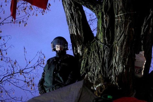 Fotos: S21 – Polizei räumt Schlossgarten in Stuttgart