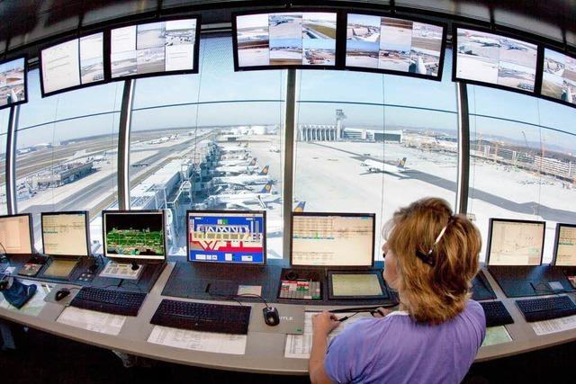 Frankfurter Flughafen wird bestreikt