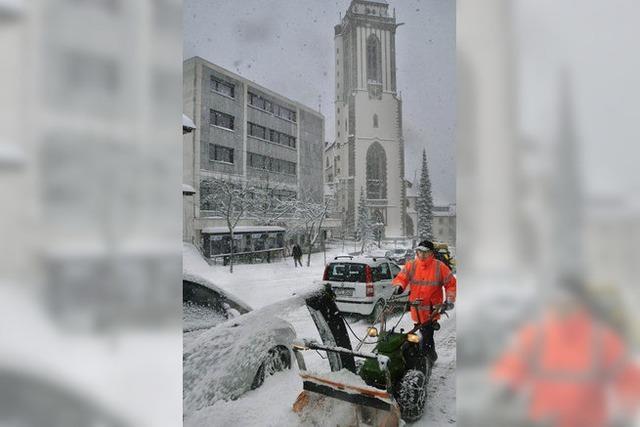 Volle Breitseite Winter