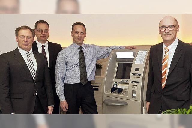 Grißheimer Filiale der Volksbank ist umgebaut