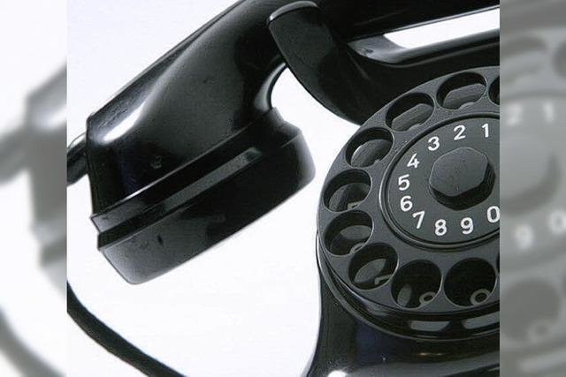 Stille aus dem Telefon