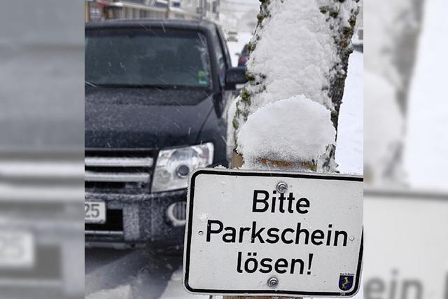 Das Parken wird teurer