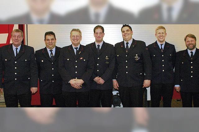 Feuerwehrleute ziehen Bilanz