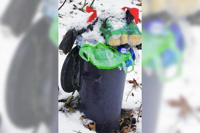 Müll breitet sich aus