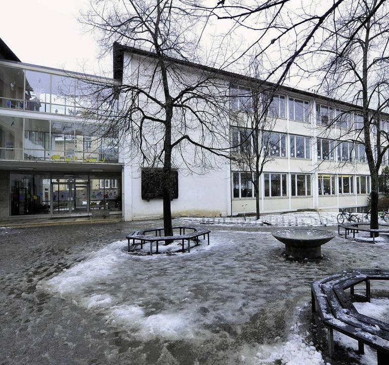 <ppp> </ppp>und die Reinhold-Schneider-Schule bekommt eine Cafeteria.  | Foto: Michael Bamberger