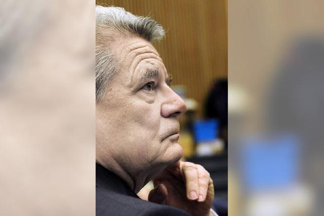 Gauck in Freiburg: Der große Schatten des einstigen Verlierers
