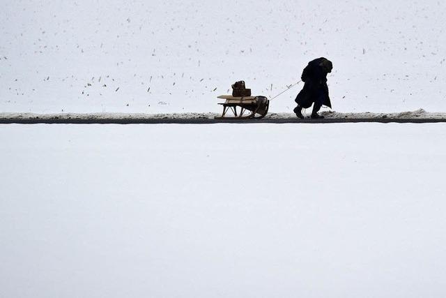 Blitzeis, Lawinen und viel Schnee