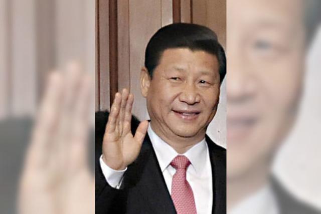 Der freundliche Genosse Xi Jinping