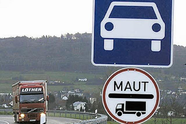 Einige Bundesstraßen kosten bald Maut