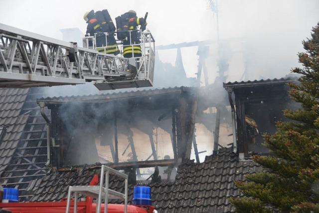 Brand in Windenreute: Auslöser bleibt unklar