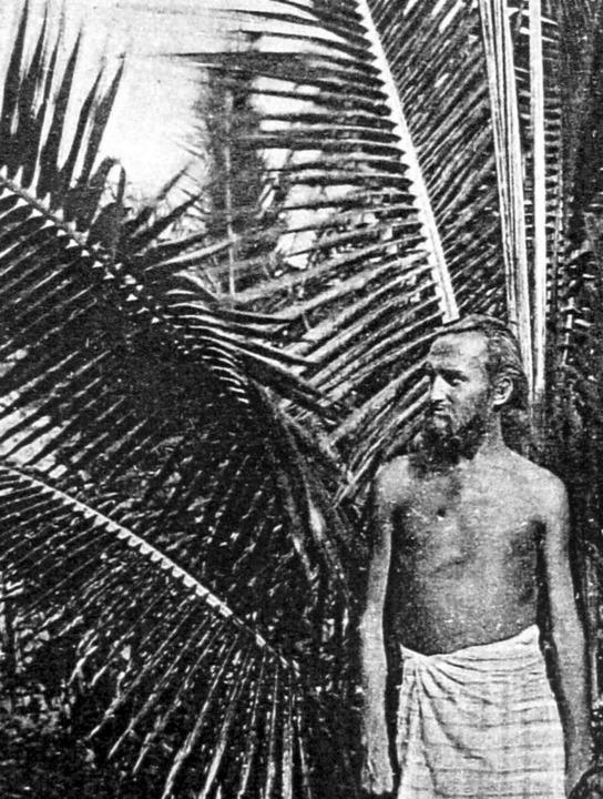 Im Paradies:  Aussteiger August Engelhardt   1906 auf Kabakon   | Foto: dpa
