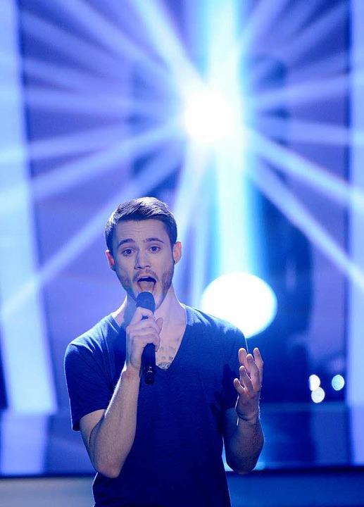 Roman Lob aus Neustadt/Wied – de...Künstler beim Eurovision Song Contest.    Foto: dpa