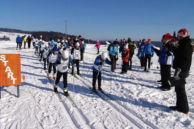 Skiläufer ermitteln ihre Besten