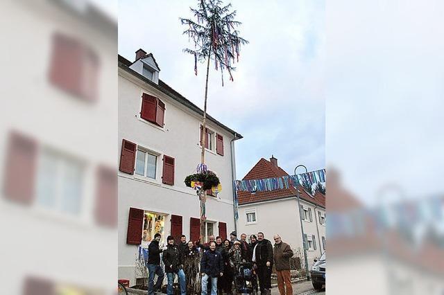 Narrenbaum auch in der Gartenstadt