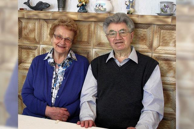 Dankbar für 60 erfüllte Ehejahre