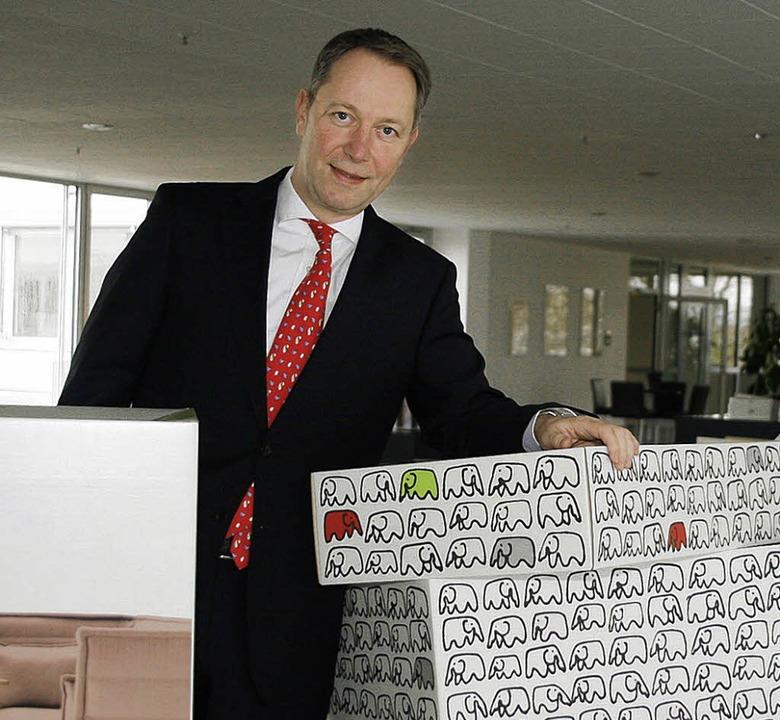 Martin Schöne ist seit Juni 2009 Gesch...erstellers und -verarbeiters Nestler.     Foto: heidi fössel