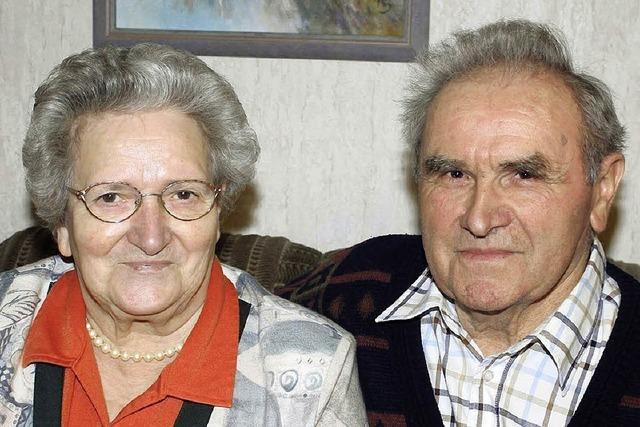 Ehepaar seit 60 Jahren