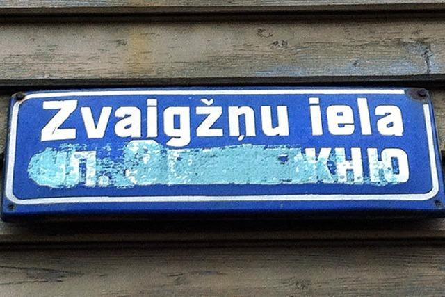 Sprachstreit entzweit Lettland