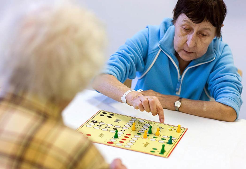 Demenzpatienten im Krankenhaus    Foto: Verwendung weltweit, usage worldwide