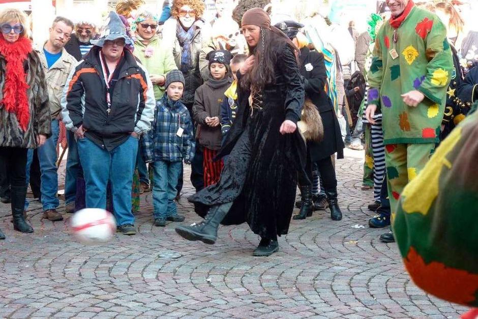 Impressionen vom Narresamschtig 2012 in Bad Säckingen. (Foto: Hilde Butz)
