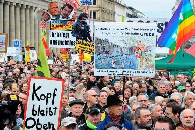 Protest gegen Stuttgart 21 flammt auf – Polizei ermittelt