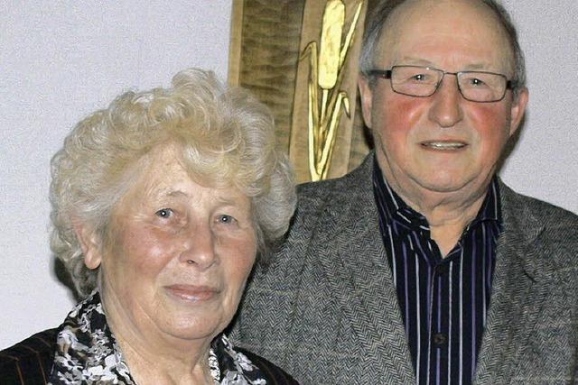 Überaus engagiert und seit 50 Jahren verheiratet