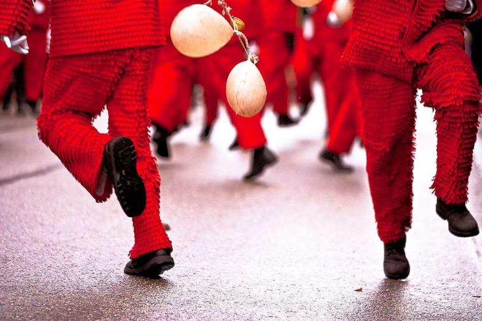 Narren feiern in Elzach (Foto: Janos Ruf)