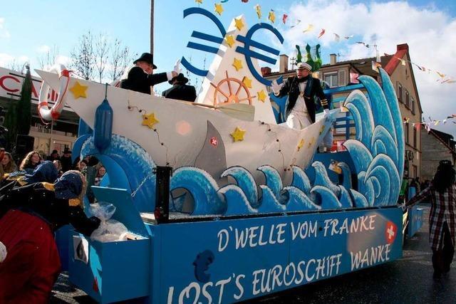 Fotos: Fasnachtsumzug in Grenzach-Wyhlen