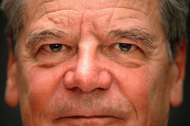 Joachim Gauck: Der reisende Demokratielehrer