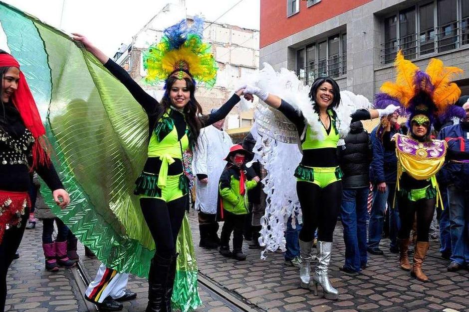 Brasilianerinnen in Thermo-Ganzkörper-Underwear (Foto: Thomas Kunz)
