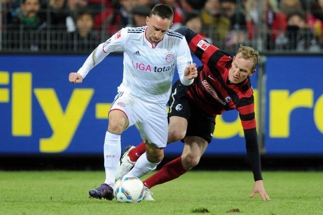 Aktuell: Der SC Freiburg gegen den FC Bayern München 0:0