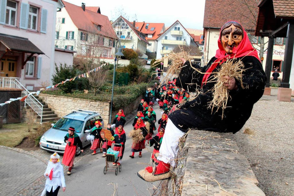 Umzug in Ebringen (Foto: Michael Saurer)