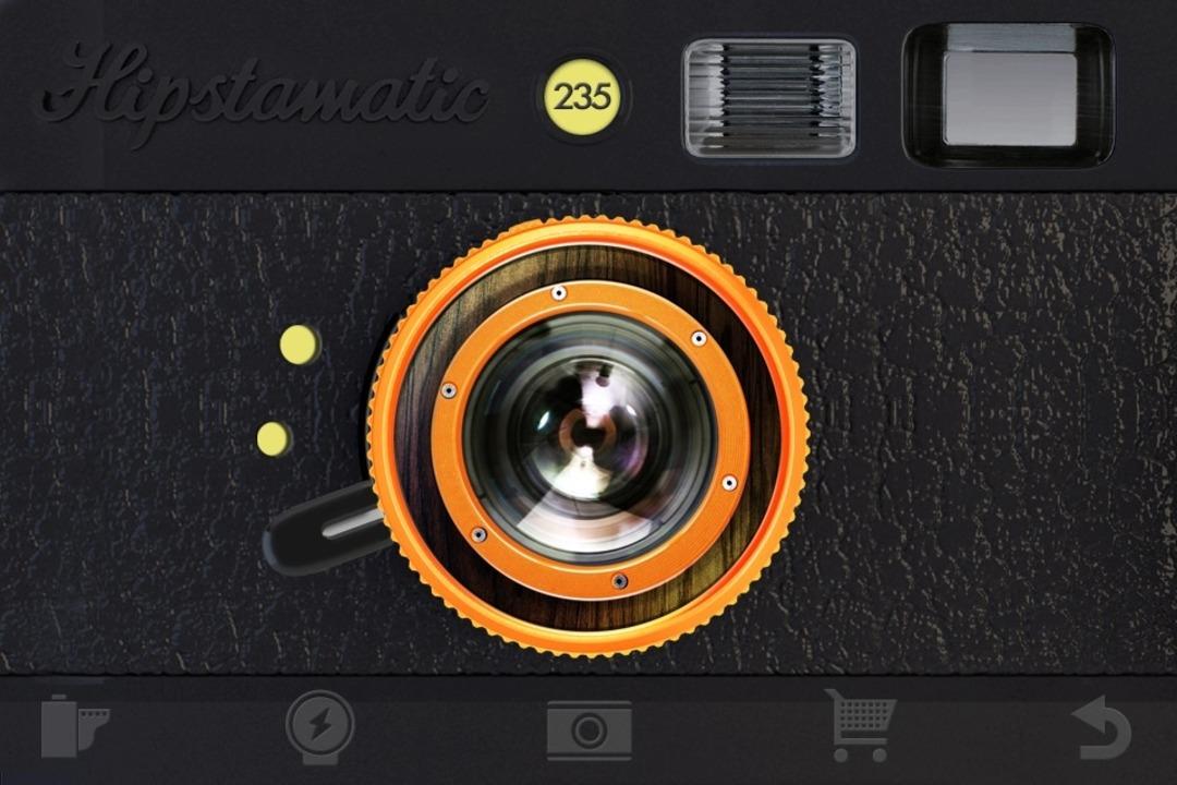 Hippe Retro-Foto-App: Hipstamatic  | Foto: IDG