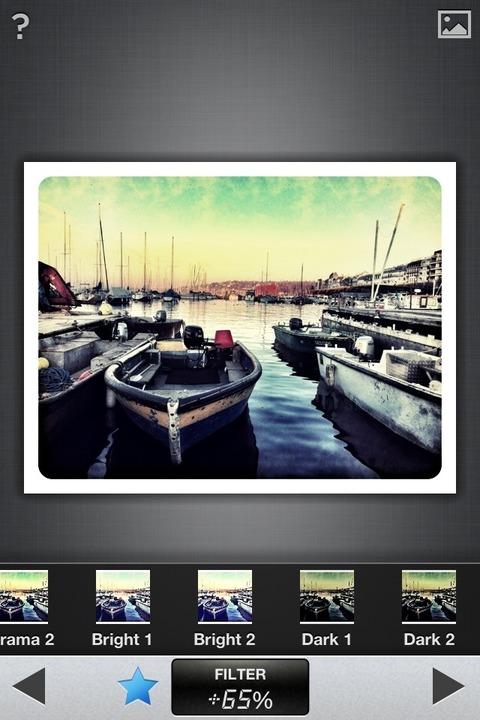 Snapseed unterstützt als besonderes Extra Gestensteuerung.  | Foto: IDG